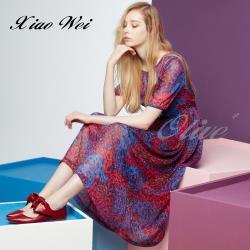 CHENG DA 春夏專櫃精品女裝時尚短袖洋裝NO.022007