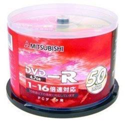 三菱 4.7GB 國際版 DVD-R 4.7GB 16X 50片