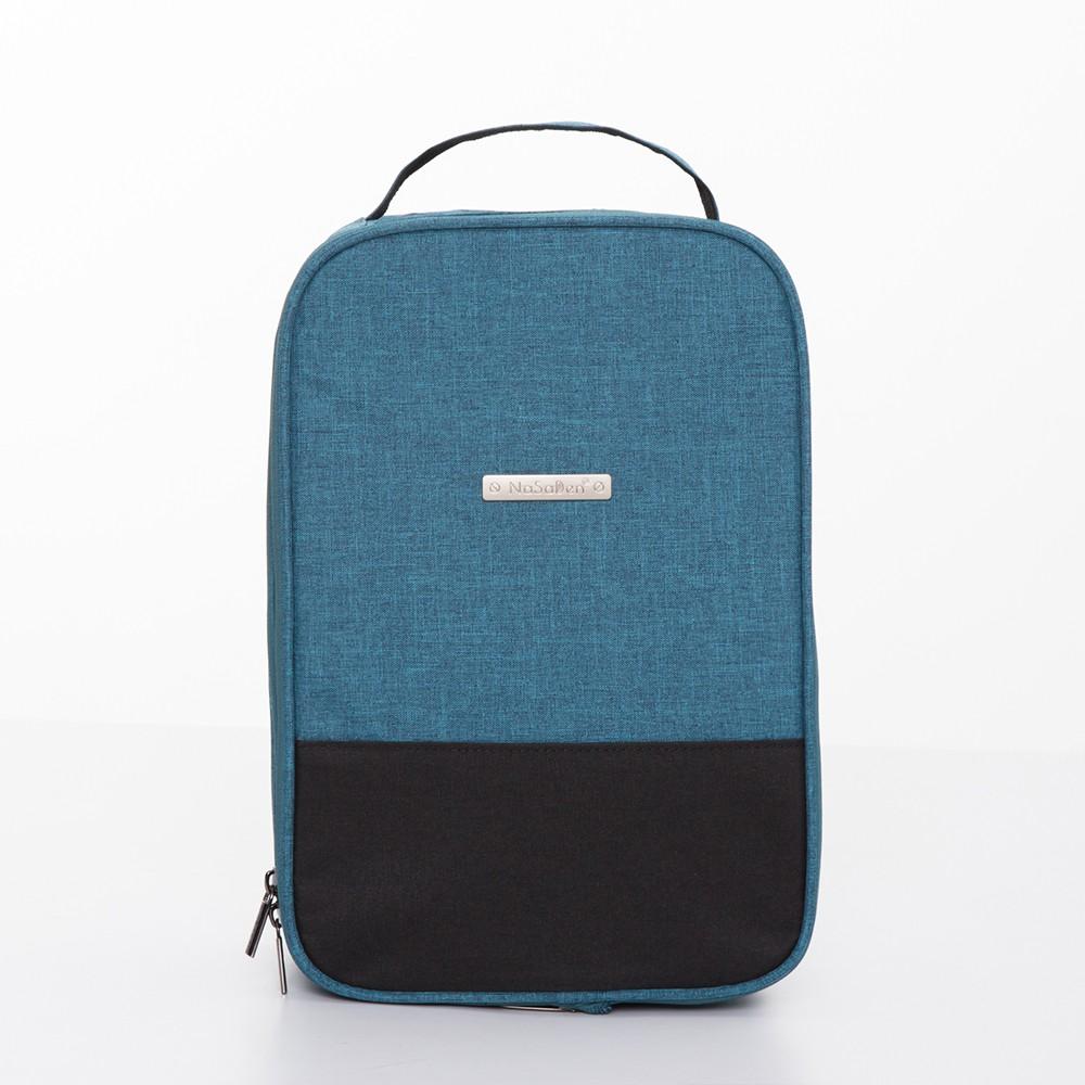 NaSaDen 鞋袋-高跟鞋/鞋類專用收納袋(孔雀藍)