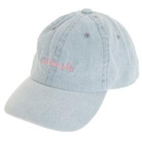 【Super Sports XEBIO & mall店:帽子】デニムサインロゴ 刺繍 キャップ ピンク 2G9-4387 C#74 WBLU