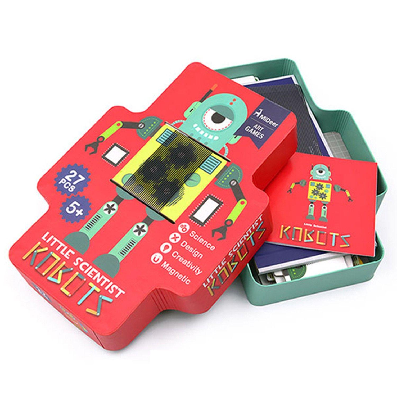MiDeer - 光柵磁性遊戲-機器人-27片