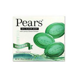 【印度PEARS】甘油皂--綠(檸檬花粹)(125g)*12