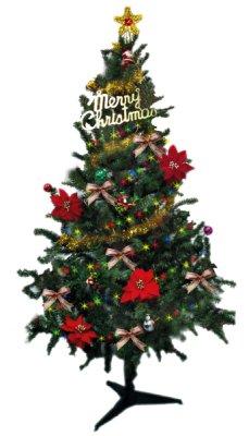 洋洋小品【6呎聖誕樹(裸樹)180CM高】桃園平鎮中壢 聖誕佈置 聖誕擺飾 聖誕燈 聖誕花圈 聖誕球 社區公司機關