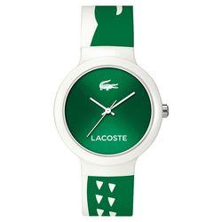 Lacoste Goa 繽紛大鱷魚趣味時尚腕錶 綠 40mm L2020092