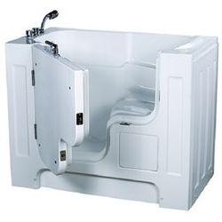 【海夫健康生活館】開門式浴缸 大開口 115-R 氣泡按摩款 (132*740*112cm)