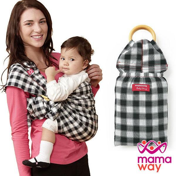 【mamaway媽媽餵】育兒揹巾 金門哺乳揹巾 背巾 哄睡神器 寶寶揹巾