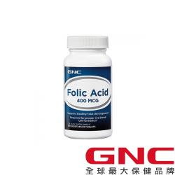 GNC健安喜 孕養調理葉欣100錠 (葉酸400mcg)