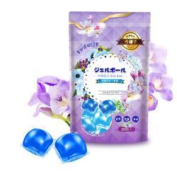奇檬子 五效合一香氛洗衣膠球20顆x4包(英國梨與小蒼蘭)