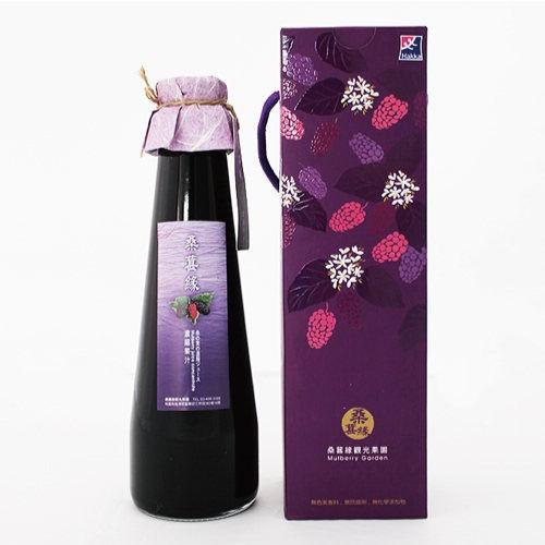 【桑葚緣】桑葚濃縮果汁(1/2/4瓶) (1瓶/600ml)