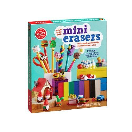 美國KLUTZ創意遊戲書 - make mini erasers DIY創意橡皮擦