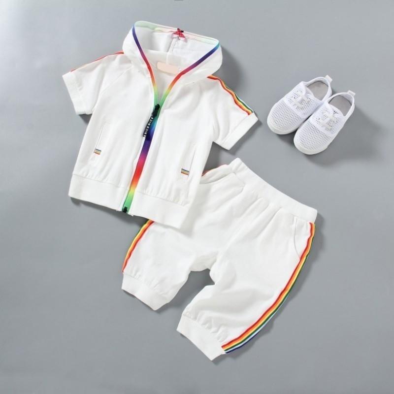 新款嬰兒兒童運動服套裝【IU貝嬰屋】
