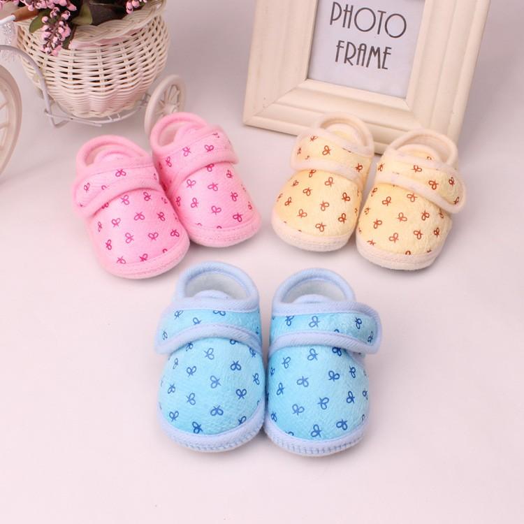 鞋內長10-11公分初生嬰兒鞋可愛寶寶鞋子防滑軟底鞋可愛圖案嬰兒鞋