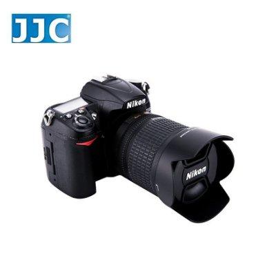 又敗家JJC副廠尼康HB-32鏡頭遮光罩適原廠Nikon遮光罩AFS DX Nikkor 18-105mm 18-135mm 18-140mm f3.5-5.6