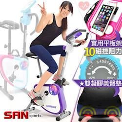 SAN SPORTS YA!奇摩子!飛輪式磁控健身車