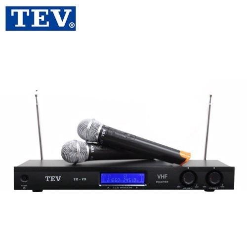 【TEV】台灣電音VHF超高頻無線麥克風(TR-V9)