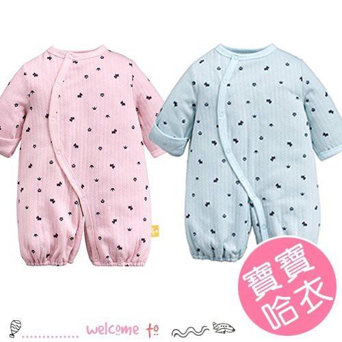 嬰幼兒空氣棉兩用長袖哈衣 包屁衣