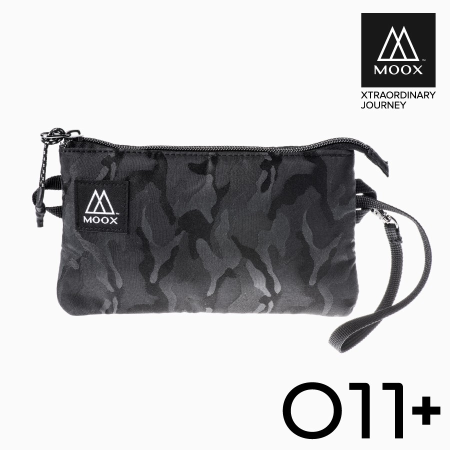 【穆克斯MOOX】 O11AB+ 加大版經典收納包(迷彩黑)