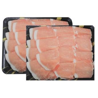 鹿児島産黒豚ロースしゃぶしゃぶ用1kg
