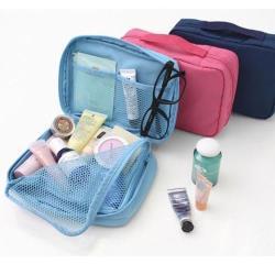 E.City_旅行用大容量多隔層手提洗漱包