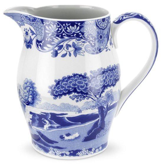 《齊洛瓦鄉村風雜貨》英國Spode Blue系列 飲品壺 花瓶 牛奶水壺
