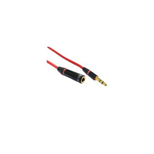 I-WIZ 彰唯 3.5mm公 to 3.5mm母 3極 音源線 音源線延長線 1m 鍍金端子