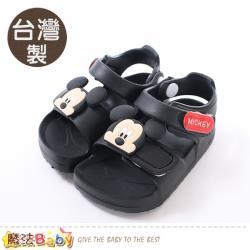 魔法Baby 男童鞋 台灣製迪士尼米奇授權正版極輕涼鞋~sk0725