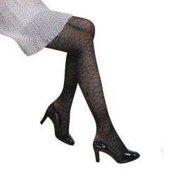 【GLANZ 格藍絲】日系甜美辛辣造型顯瘦透膚襪-蛛網貴婦*2雙組