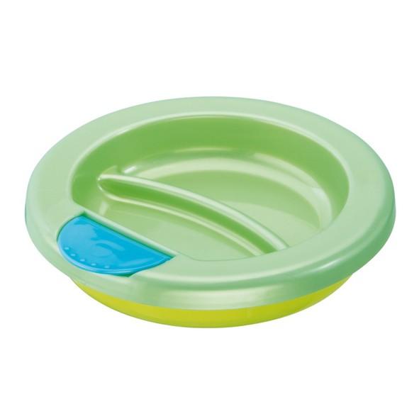 rotho babydesign 保溫餐盤(黃色)