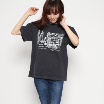 ファクターイコール Factor= NYCITY Tシャツ (BK)