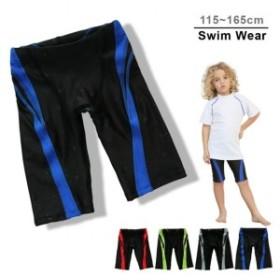 水着 水泳パンツ サーフパンツ 子供用 男の子 男児 キッズ スイムウェア ハーフパンツ 裏地付き 水泳 競泳 海 プール スイ