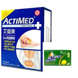 ACTIMED艾迪美香皂(113g)*12+ACTIMED艾迪美spa泡腳粉(30g*4)/盒*3