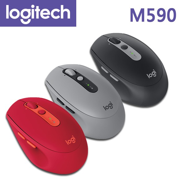 羅技 M590 多工靜音 無線滑鼠 / Unifying / 藍芽 Logitech 〔每家比〕