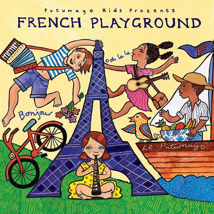 法國民謠遊樂場(升級版) French Playground (Updated) PUT358
