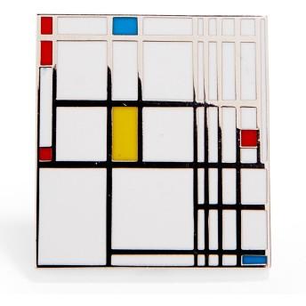 MoMA エナメルピン Piet Mondrian