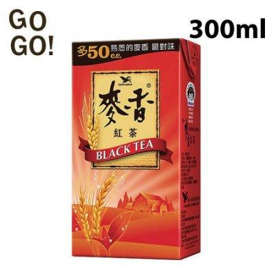 統一麥香紅茶 麥香奶茶 麥香綠茶 1箱300mlX24瓶 特價190元 每瓶平均單價7.91元
