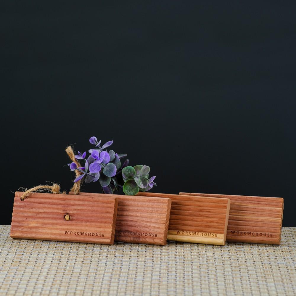 【生活工場】Natural雪松防蟲木片4入組