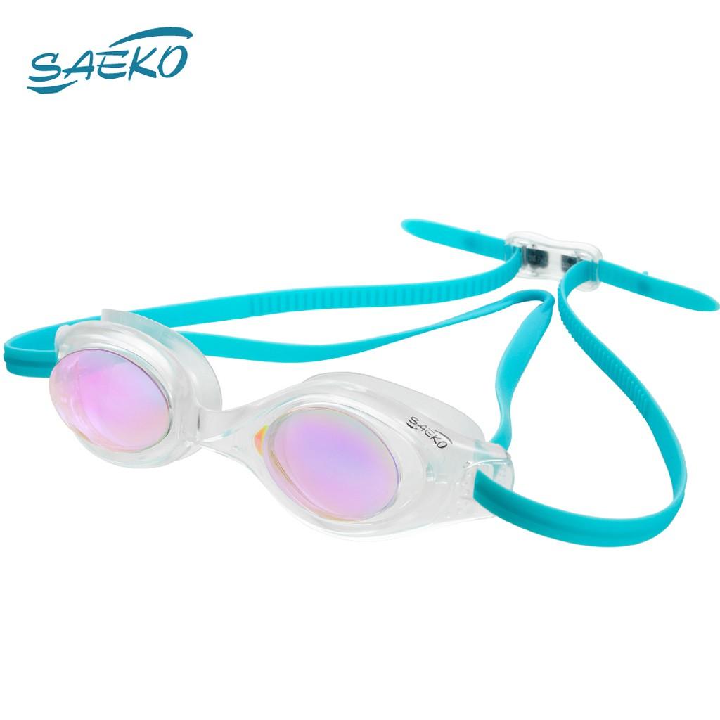 【SAEKO】超服貼眼罩 舒適新體驗 休閒款 電鍍 成人泳鏡 蛙鏡 S49UV