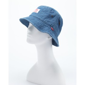 ROUND HOUSE NEW WASHED DENIM BUCKET HAT(ウォッシュデニムバケットハット)○LB18903067 ブルー スポーツグッズ・アクセサリー