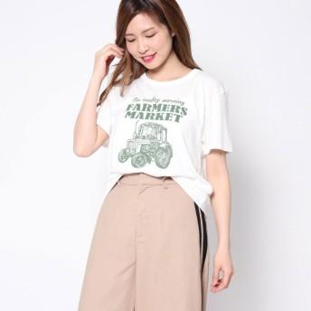 ファクターイコール Factor= CARプリントTシャツ (OTM)