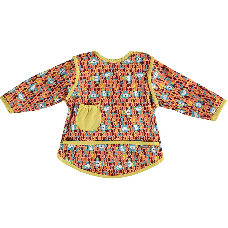 英國 Close - Pop-in 嬰兒多功能圍兜/畫畫衣-提奇猴 (18-36m)