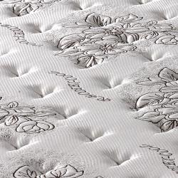 【歐若拉名床】正三線乳膠涼爽舒柔布硬式獨立筒床墊-單人特大4尺