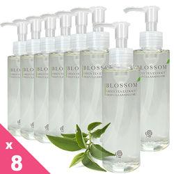 BLOSSOM 綠茶植萃淨白保濕煥采深層潔顏油(150ML/瓶)*8件組