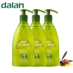 土耳其【DALAN】橄欖籽液體肥皂 (400ml X 3入)
