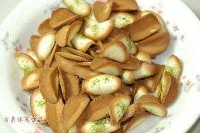 【吉嘉食品】味良野-海苔煎餅(奶蛋素) 600公克 [#600]{3191-5}