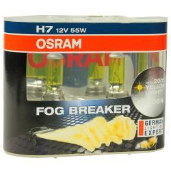 OSRAM 終極黃金2600K FOG BREAKER 公司貨(H7)