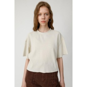 MOUSSY マウジー THERMAL CROPPED Tシャツ