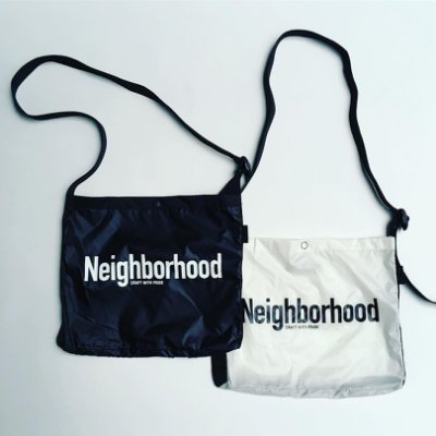 ☆AirRoom☆【現貨】2018AW NEIGHBORHOOD ID / N-SHOULDER 伊勢丹 小包 袋子
