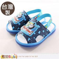 魔法Baby 寶寶鞋 台灣製湯瑪士小火車正版幼兒嗶嗶鞋~sh9751