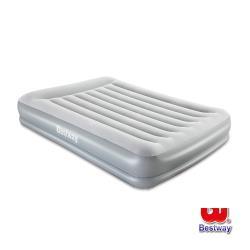 Bestway Queen雙人絨面加高AC自動充氣床-灰 67633