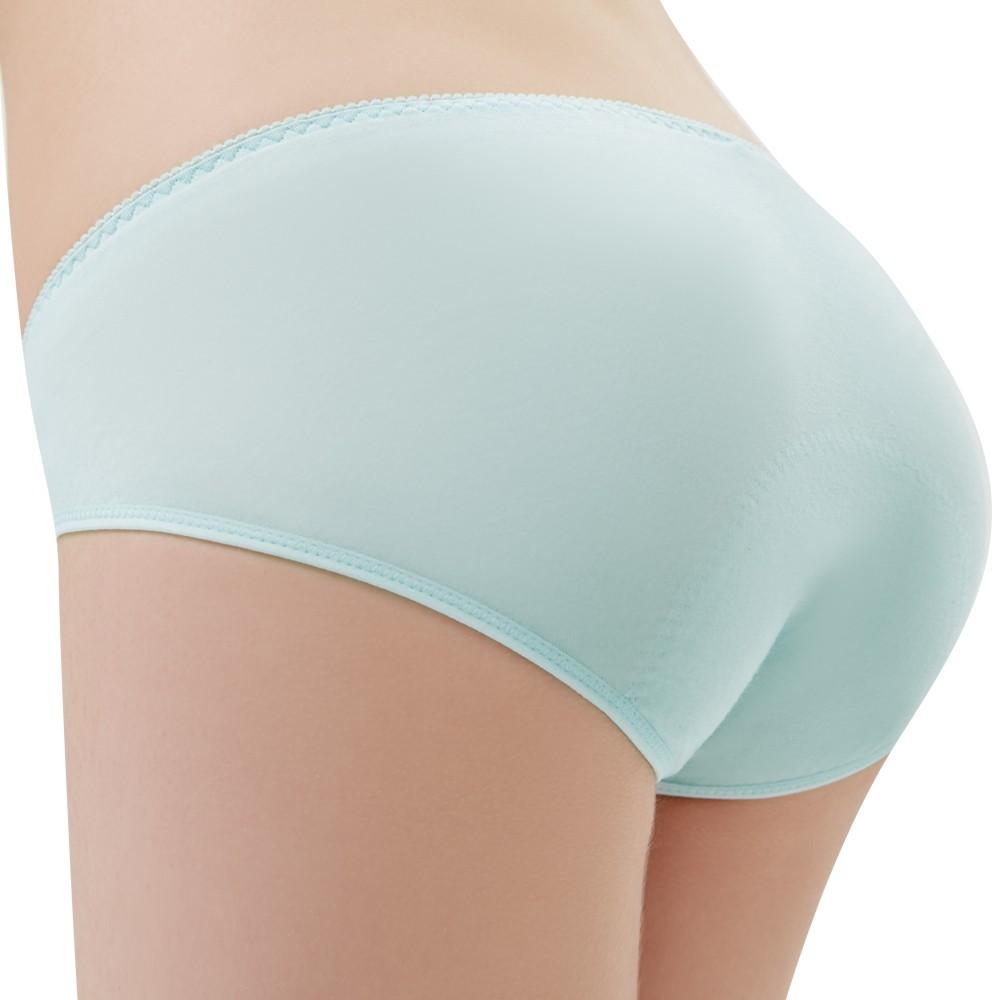 SWEAR 思薇爾 森林小兔輕甜風系列M-XXL日用低腰生理褲(元氣藍)